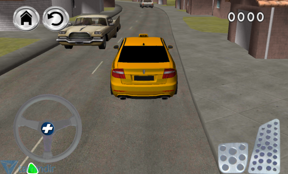 Free Crazy Town Taxi Parking Ekran Görüntüleri - 2