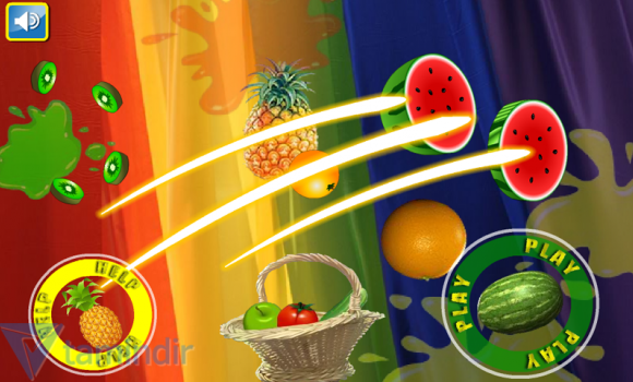 Free Fruit Cut Ekran Görüntüleri - 3