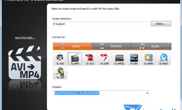 Freemore MP4 Video Converter Ekran Görüntüleri - 1