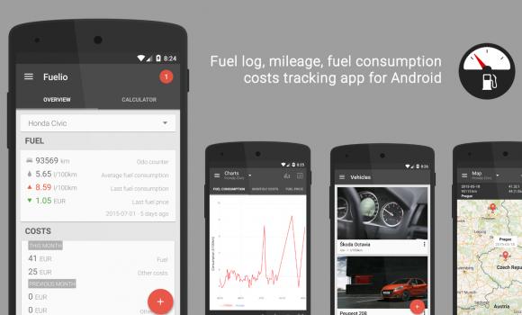 Fuelio Ekran Görüntüleri - 3