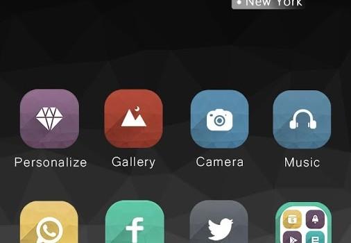 Grey Hola Launcher Theme Ekran Görüntüleri - 3