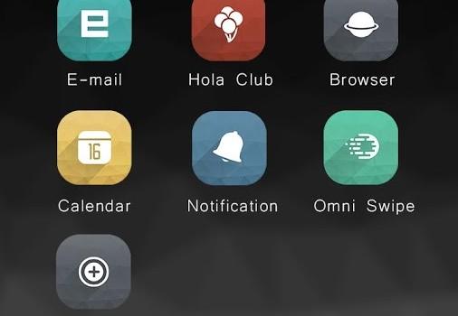 Grey Hola Launcher Theme Ekran Görüntüleri - 1
