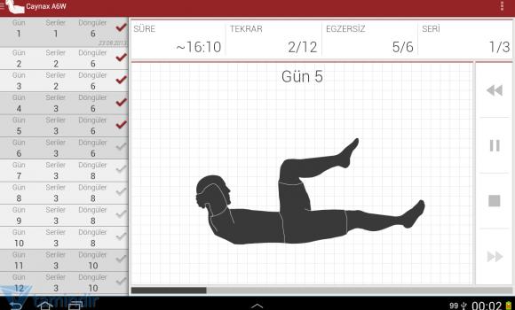 Günlük Karın Egzersiz Ekran Görüntüleri - 5