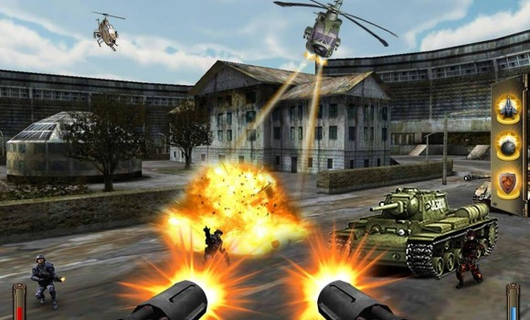Gunship Counter Shooter 3D Ekran Görüntüleri - 1