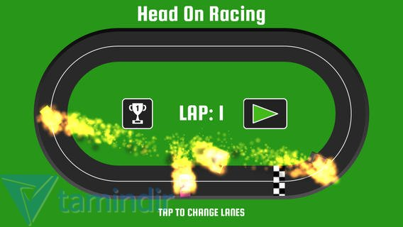 Head On Racing Ekran Görüntüleri - 1