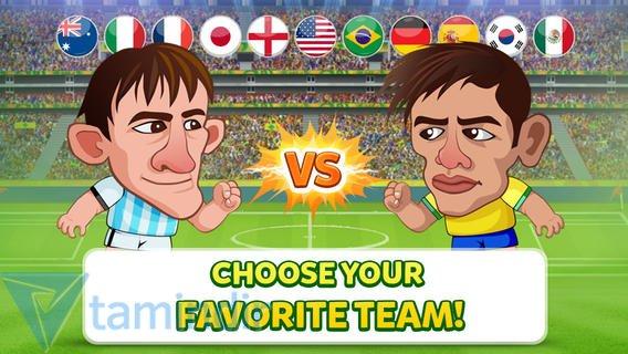 Head Soccer - Brazil Cup 2014 Ekran Görüntüleri - 1
