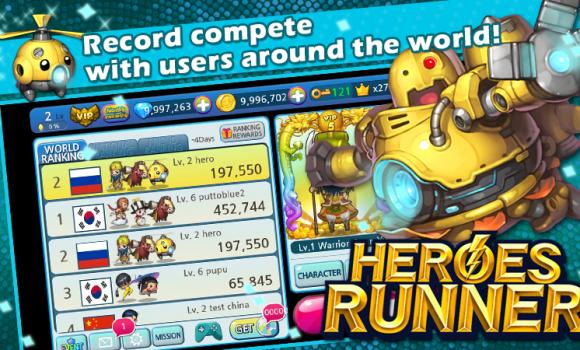 HeroesRunner Ekran Görüntüleri - 1