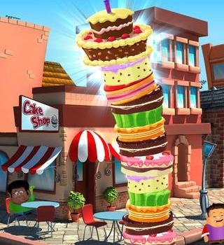 High Cake: Cake Tower Mania Ekran Görüntüleri - 2