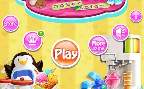 Ice Cream Maker Salon Ekran Görüntüleri - 5