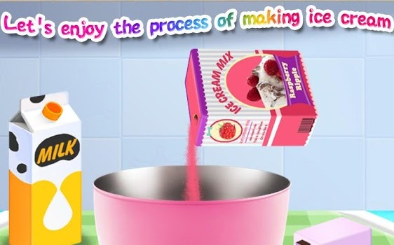 Ice Cream Maker Salon Ekran Görüntüleri - 4