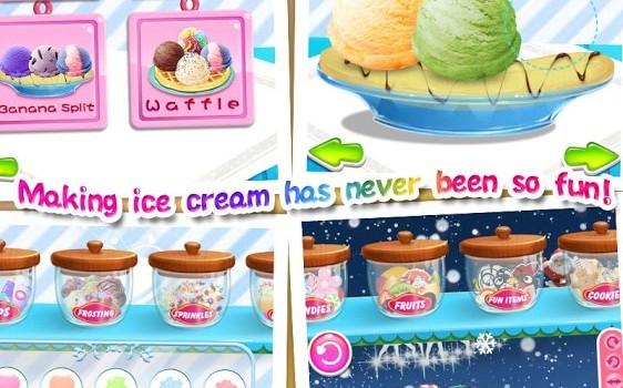 Ice Cream Maker Salon Ekran Görüntüleri - 3