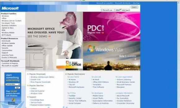 Internet Explorer 6 Service Pack 1 Ekran Görüntüleri - 1
