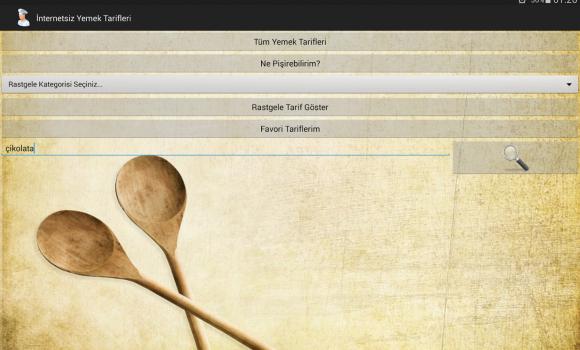 İnternetsiz Yemek Tarifleri Ekran Görüntüleri - 4