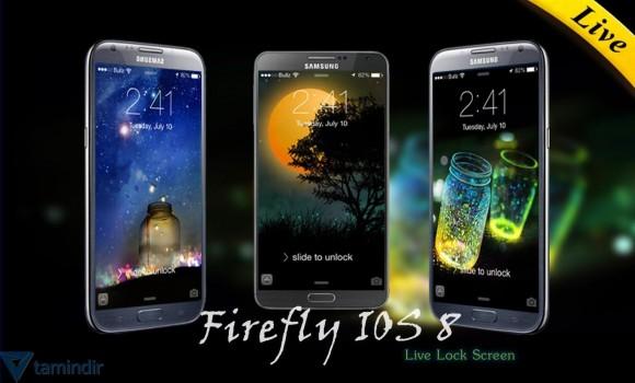 IOS 8 Firefly Locker Ekran Görüntüleri - 1