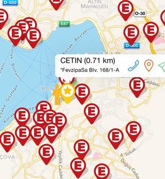 İzmir Eczacı Odası Nöbetçi Eczane Ekran Görüntüleri - 3