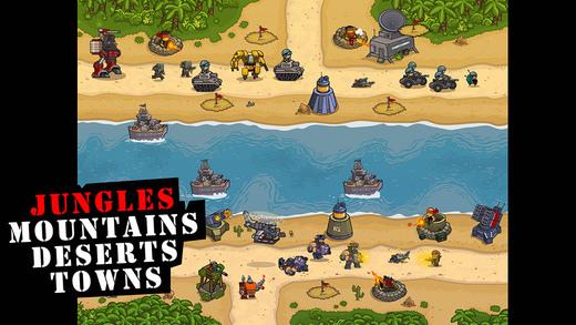 Jungle Island Defence Ekran Görüntüleri - 2