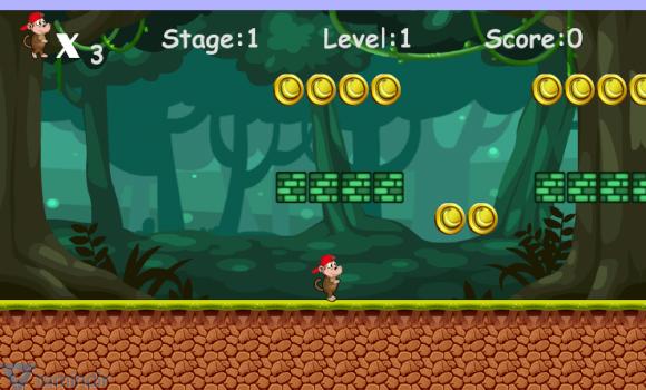 Jungle Monkey Run Ekran Görüntüleri - 4