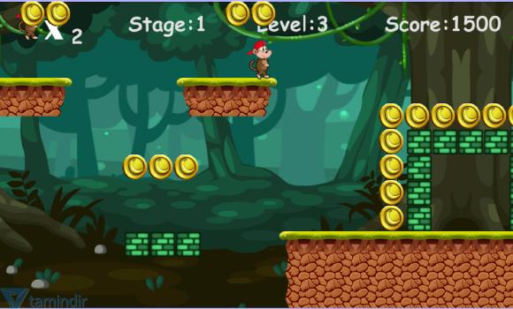 Jungle Monkey Run Ekran Görüntüleri - 2
