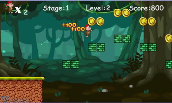 Jungle Monkey Run Ekran Görüntüleri - 1