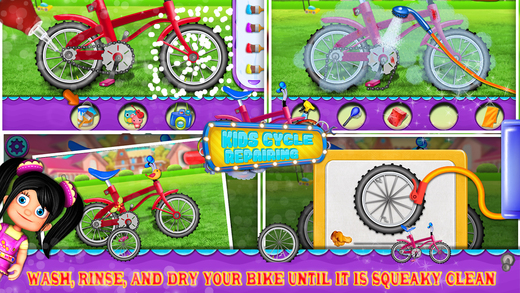 Kids Cycle Repairing Ekran Görüntüleri - 3