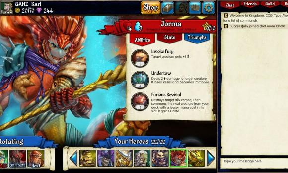Kingdoms CCG Ekran Görüntüleri - 3