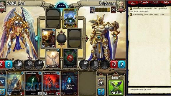 Kingdoms CCG Ekran Görüntüleri - 1