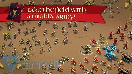 Kingdoms of Zenia: Dragon Wars Ekran Görüntüleri - 1