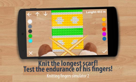 Knit Fingers Simulator 2 Ekran Görüntüleri - 2