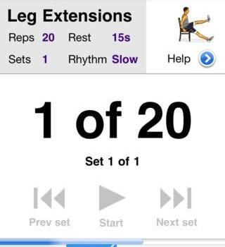 Leg Workouts Free Ekran Görüntüleri - 3