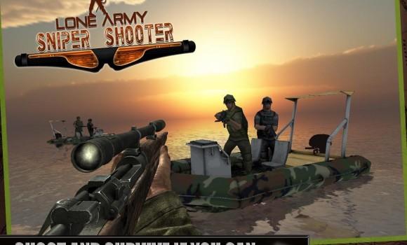 Lone Army Sniper Shooter Ekran Görüntüleri - 3