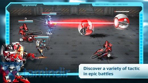 Mecha Titans Ekran Görüntüleri - 3