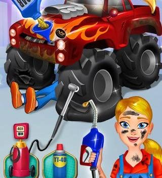 Mechanic Mike - Monster Truck Mania Ekran Görüntüleri - 5