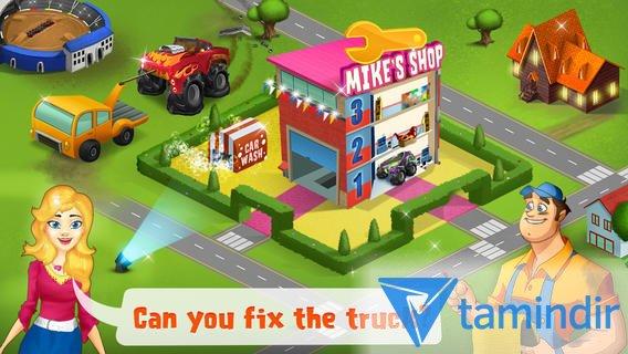 Mechanic Mike - Monster Truck Mania Ekran Görüntüleri - 4