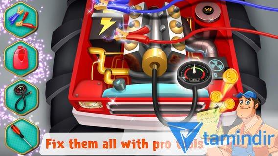 Mechanic Mike - Monster Truck Mania Ekran Görüntüleri - 1