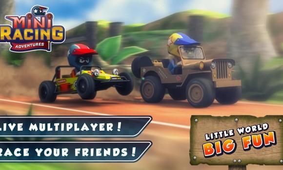 Mini Racing Adventures Ekran Görüntüleri - 3