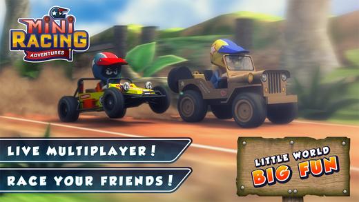 Mini Racing Adventures Ekran Görüntüleri - 5