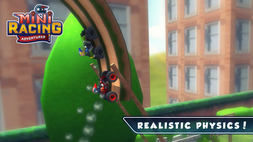 Mini Racing Adventures Ekran Görüntüleri - 1