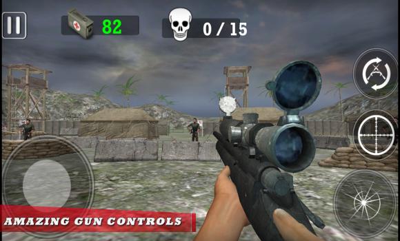 Modern Army Sniper Shooter Ekran Görüntüleri - 2
