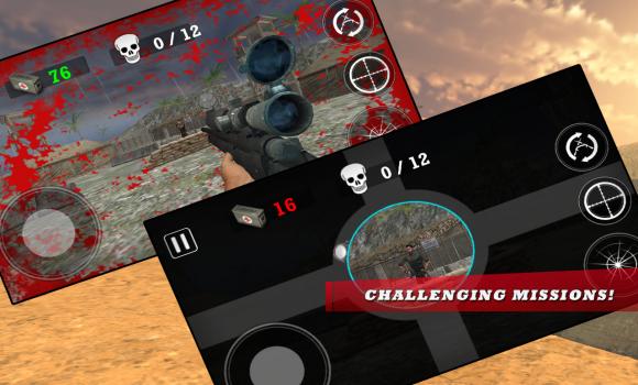 Modern Army Sniper Shooter Ekran Görüntüleri - 1