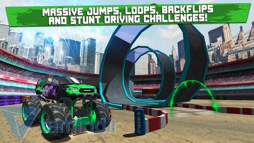 Monster Truck Jam Parking Simulator Ekran Görüntüleri - 1