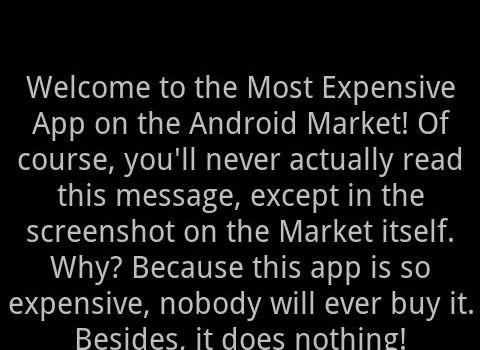 Most Expensive App Ekran Görüntüleri - 1