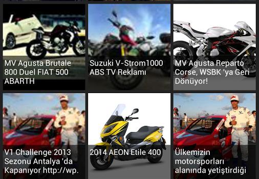 Moto Aktüel Motosiklet Ekran Görüntüleri - 1