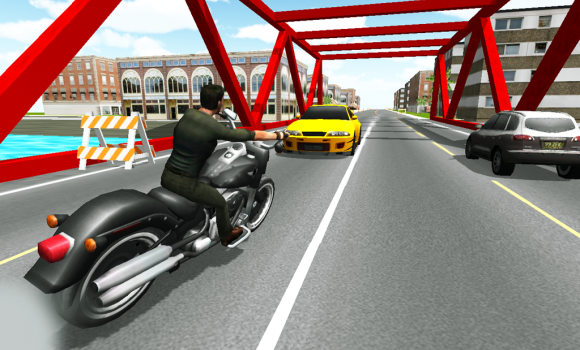 Moto Racer 3D Ekran Görüntüleri - 3