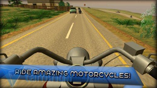 Motorcycle Driving 3D Ekran Görüntüleri - 2