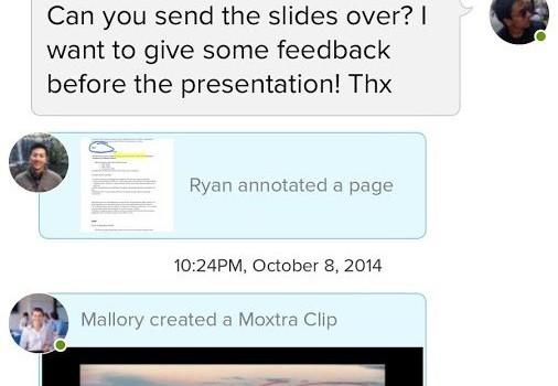 Moxtra Ekran Görüntüleri - 3