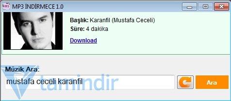 MP3 İndirmece Ekran Görüntüleri - 1