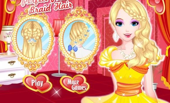 Perfect Braid Hairdresser Ekran Görüntüleri - 2