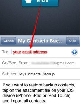 My Contacts Backup Ekran Görüntüleri - 1
