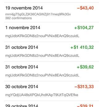 Mycelium Bitcoin Wallet Ekran Görüntüleri - 3