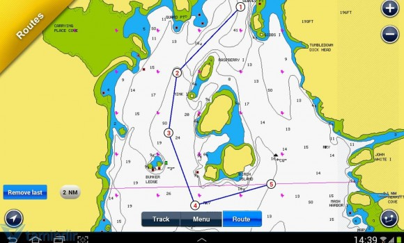 Navionics Boating HD Ekran Görüntüleri - 1